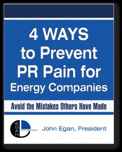 Egan Energy PR Report Cover Shadow