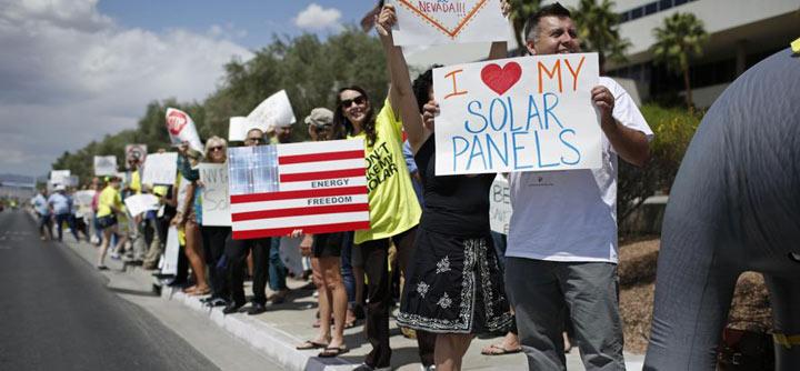 solar protesters
