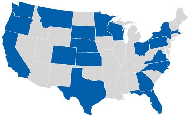 EEC's U.S. Clients